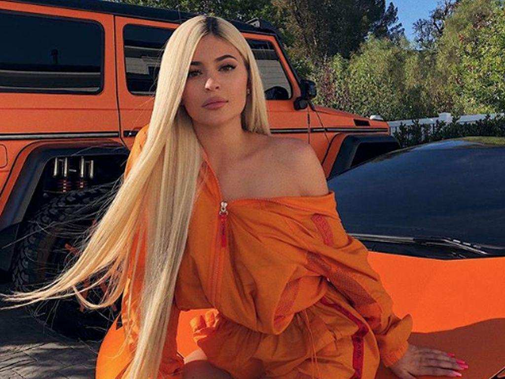 Penampilan Kylie usai melahirkan.Dok. Instagram/kyliejenner