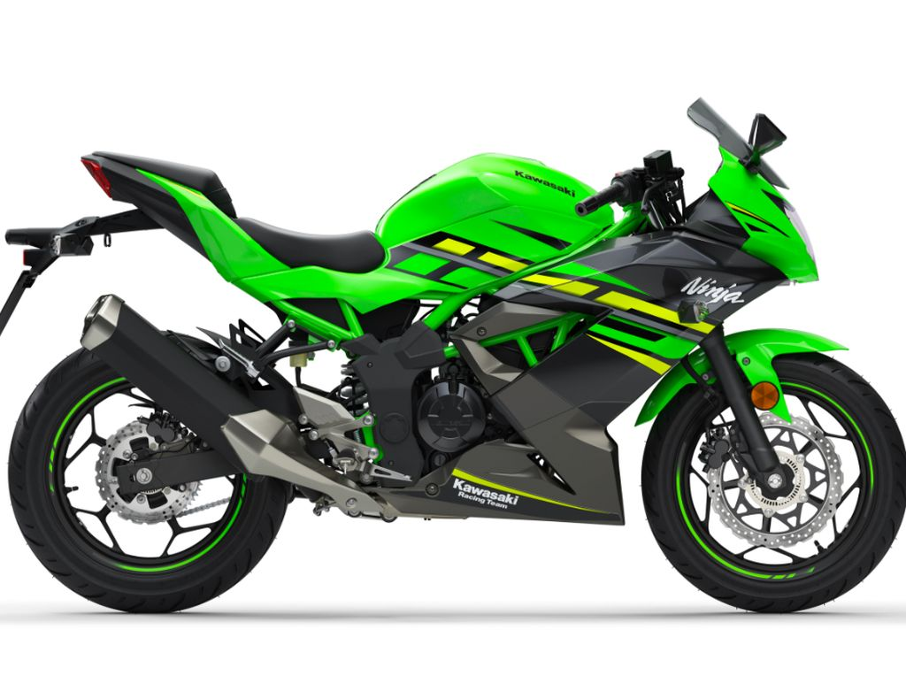 model baru ini memiliki kapasitas mesin 125 cc. Motor bakal dinamakan Kawasaki Ninja 125 untuk versi fairing sport dan Z125 untuk versi naked-nya. Foto: pool (motorcycle)