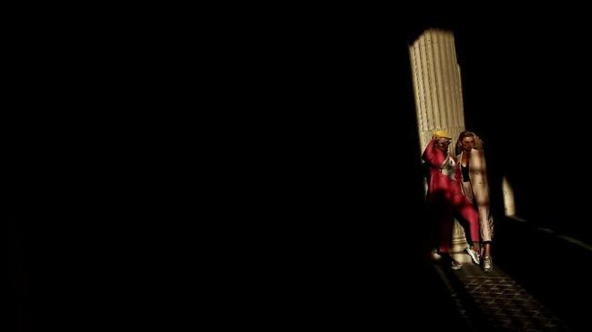 Pada suatu sore yang cerah di Paris, Perancis, seorang perempuan menikmati sorotan lampu terakhir dengan berpose untuk seorang fotografer fesyen (tak terlihat di foto) di halaman museum Louvre. REUTERS/Christian Hartmann
