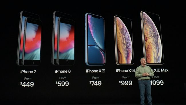 5 Perbandingan iPhone Anyar Apple, XS, XS Max, dan XR