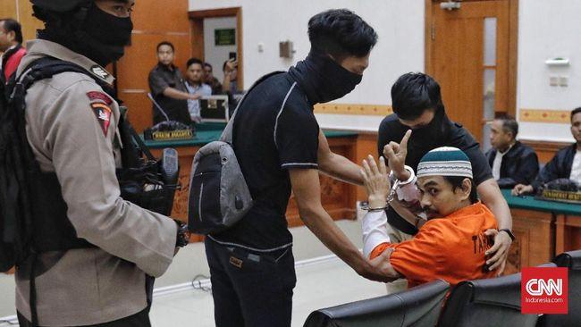 Pimpinan JAD Pekanbaru Divonis 11 Tahun Penjara