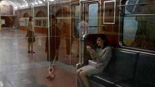 FOTO: Sepur di Bawah Tanah Korea Utara