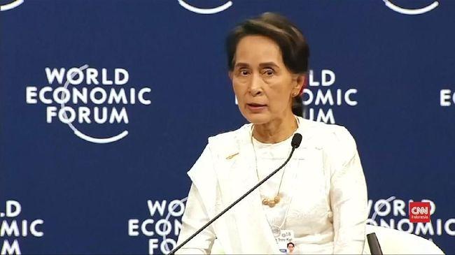 Paris Bakal Cabut Gelar Kehormatan Aung San Suu Kyi