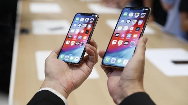 Apple mengatakan ketigaponsel ini dapat mulai dipesan pada 14 September 2018.(REUTERS/Stephen Lam)