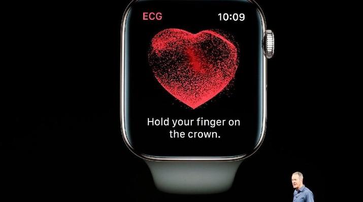 Apple Watch Baru Punya Fitur Pendeteksi Ritme Jantung