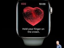 Wow! Apple Watch Bakal Dipakai Buat Lacak Kelainan Cara Makan