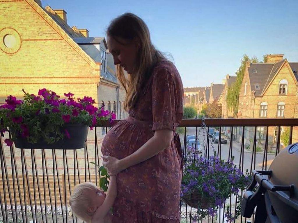 Foto: Wanita Ini Hamil Kembar 3, Perubahan Perutnya Bikin Takjub