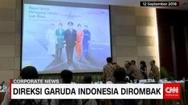 Direksi Garuda Indonesia Dirombak