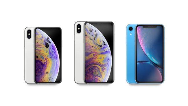INFOGRAFIS: Membandingkan Tiga Generasi Terbaru iPhone