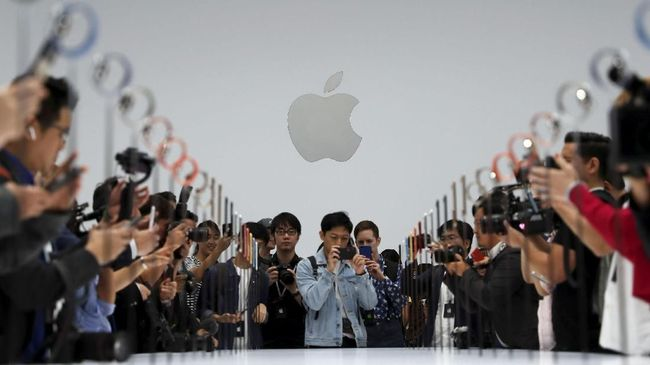 Apple Geser Microsoft Jadi Perusahaan Paling Bernilai