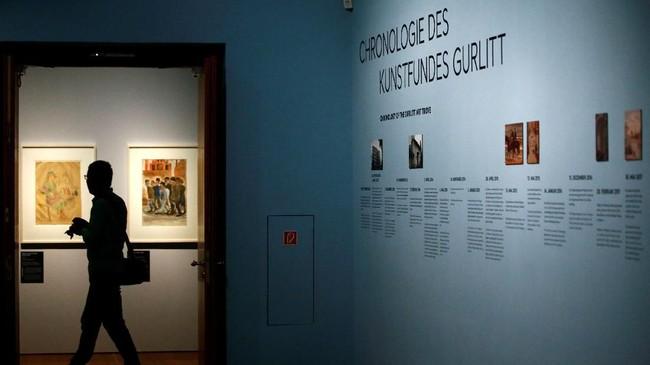 Gurlitt merupakan anak dari Hildebrand Gurlitt, seorang dealer dan kolektor seni yang dipercaya oleh Pemerintahan Nazi untuk mencari karya seni di luar negeri.(REUTERS/Fabrizio Bensch)