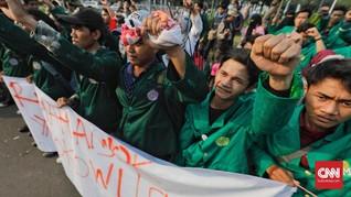 Massa Pro Jokowi Diklaim Ikut Terluka Saat Demo di Medan