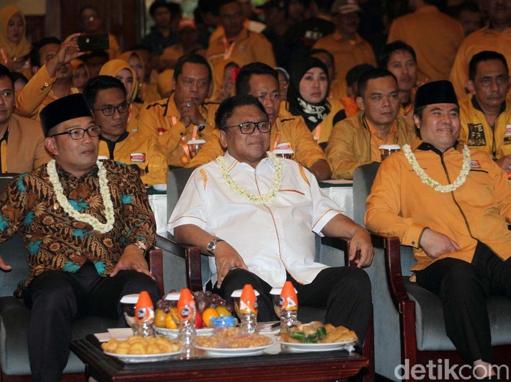 Acara ini dihadiri ratusan Caleg Prov/Kab dan Kota Partai Hanura.