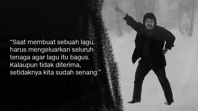 Menurut Armand Maulana, Harry Roesli amat berperan dalam filosofi berseni musisi Bandung. Nyaris semua musisi di Kota Kembang pernah mendapatkan wejangan dan semangat dari Harry Roesli. (dok. Pribadi)