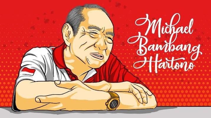 Orang terkaya Indonesia Michael Bambang Hartono memuji kepemimpinan Presiden Joko Widodo.