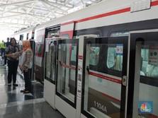 Siap-siap! LRT Kelapa Gading-Velodrome Beroperasi Maret 2019