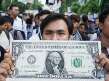 Rupiah Terpuruk, Mahasiswa Demo Pemerintah