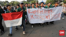 Demo Massa Pro-Kontra Jokowi di Medan Ricuh, 6 Orang Terluka