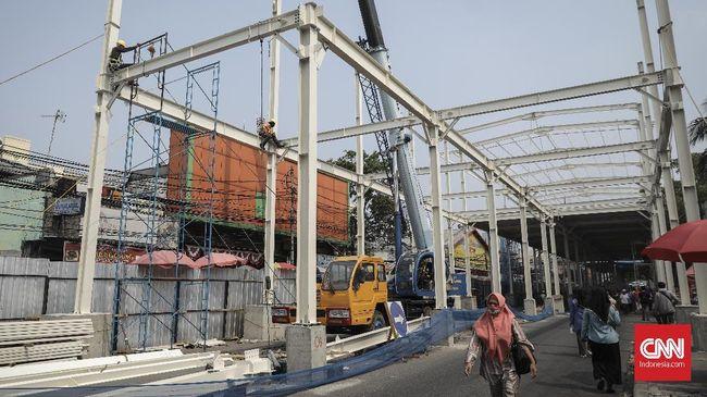 PKL Tanah Abang Dipindahkan Selama Pembangunan 'Skybridge'