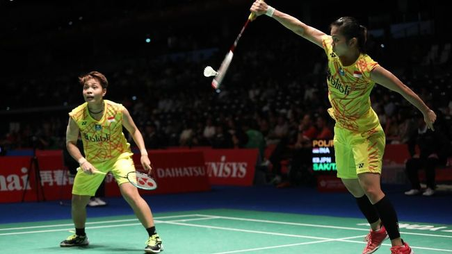 Greysia/Apriyani Kalah di Semifinal Jepang Terbuka 2018