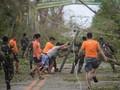 13 Orang Tewas akibat Topan Mangkhut Filipina