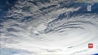 VIDEO: NASA Rilis Penampakan Badai Florence dari Luar Angkasa