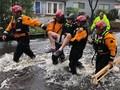 Banjir Akibat Badai Florence di AS, 900 Orang Diselamatkan