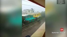 VIDEO: Topan Mangkhut Diramal Lebih Kuat dari Badai Florence
