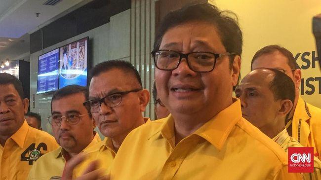 Airlangga Ogah Ikuti Cak Imin Singgung Jatah Kursi Menteri