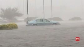 VIDEO: Intensitas Badai Florence Turun, Korban Bertambah
