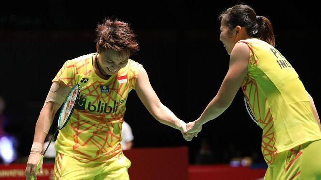 Hasil Thailand Open: Gresyia/Apriyani Gagal ke Semifinal