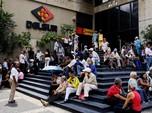 Ratusan Lansia Venezuela Tagih Tunjangan Pensiun Bulanan