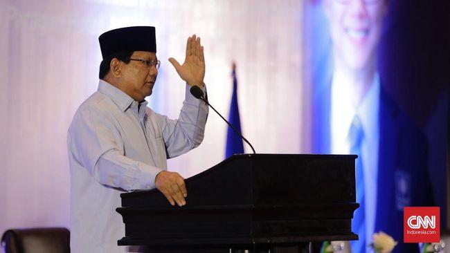 Prabowo: Pemilu Bukan Untuk Mencari Kesalahan
