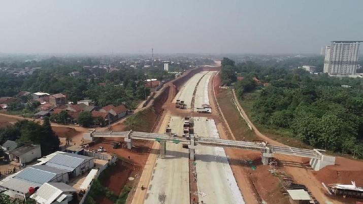 Menengok Progres Pembangunan Jalan Tol JORR II