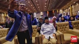 Prabowo Ungkap Strategi Ketum PAN Turunkan Ahok