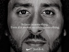Saham Nike Melejit Gara-gara Iklan Kontroversial Kaepernick