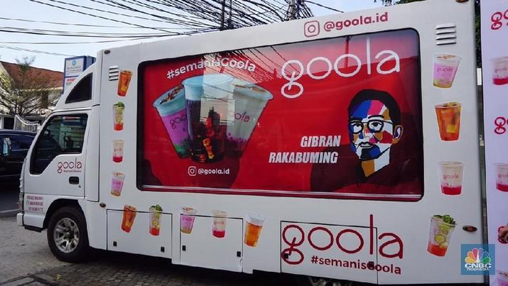 Goola, Es Doger Kekinian Karya Putra Jokowi