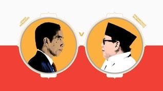 INFOGRAFIS: Prestasi dan Polemik Jokowi versus Prabowo