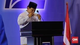 Masih Meriang, Prabowo Pusatkan Kegiatan di Hambalang