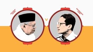 INFOGRAFIS: Prestasi dan Polemik Ma'ruf versus Sandiaga