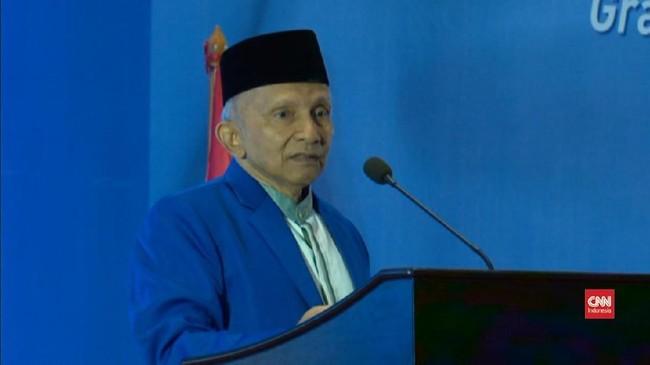 VIDEO: Amien Rais: Jika Terpilih, Prabowo Presiden Umat Islam