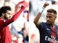 Statistik Jelang Duel Salah vs Neymar di Liga Champions