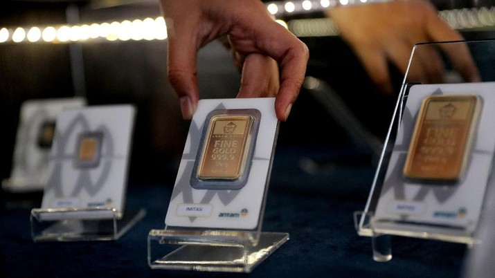 Mantap! Harga Emas Global & Emas Antam Hari Ini Rekor