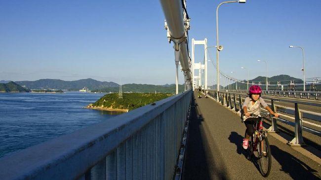6 Jalur Sepeda Terbaik di Prefektur Ehime