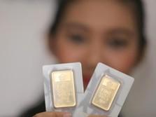 Harga Emas Dunia Turun, Logam Mulia Antam Malah Naik