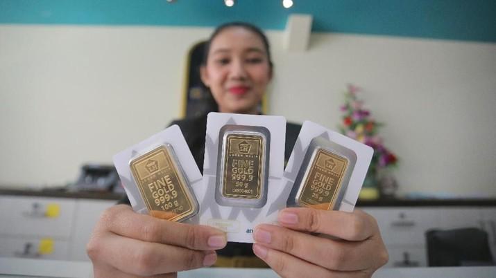 Emas Global Stabil, Harga Emas Antam Stagnan Rp 713.000/gram