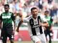 FOTO: Ronaldo Rayakan Gol Perdana di Juventus