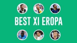 INFOGRAFIS: Best XI Eropa Versi CNNIndonesia.com Pekan Ini