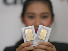 Delegasi China Mendarat di AS, Emas Antam Ambles Rp 11.000/gr
