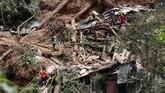 Daeah yang paling parah terkena dampak adalah Pulau Luzon, terutama daerah Benquet, di mana longsor melanda akibat hujan lebat dan angin kencang yang dibawa Topan Mangkhut. (Reuters/Erik De Castro)